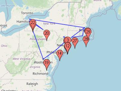 8 Day Stylish New York & Washington Tour